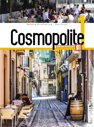 Cosmopolite 1(Liv+Dvd-Rom+Parcours Dig) A1/A2